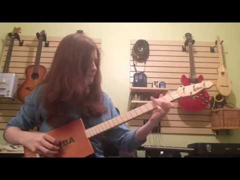 The Beatles, Blackbird (Cover on Cigar Box Guitar) - Rebecca Laird