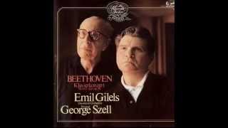 Gilels / Szell, Beethoven Piano Concerto No.4 in G major Op.58