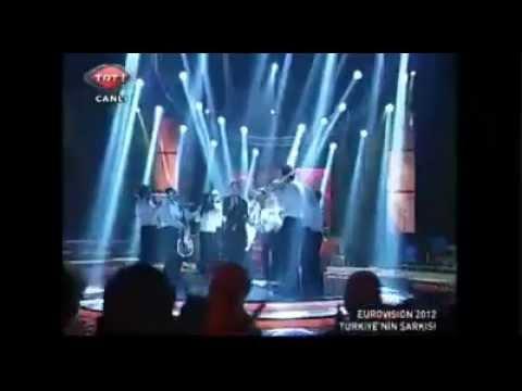 Can Bonomo - Love Me Back  | Eurovision 2012 Şarkı Yarışması Türkiye şarkısı