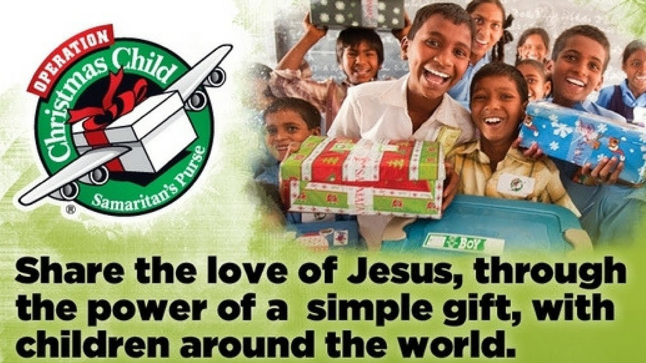Good gift ideas for operation christmas child charlotte