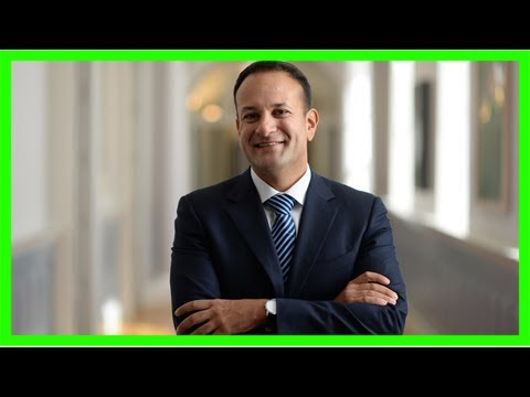 Irish pm leo varadkar surges in polls after tough brexit stance