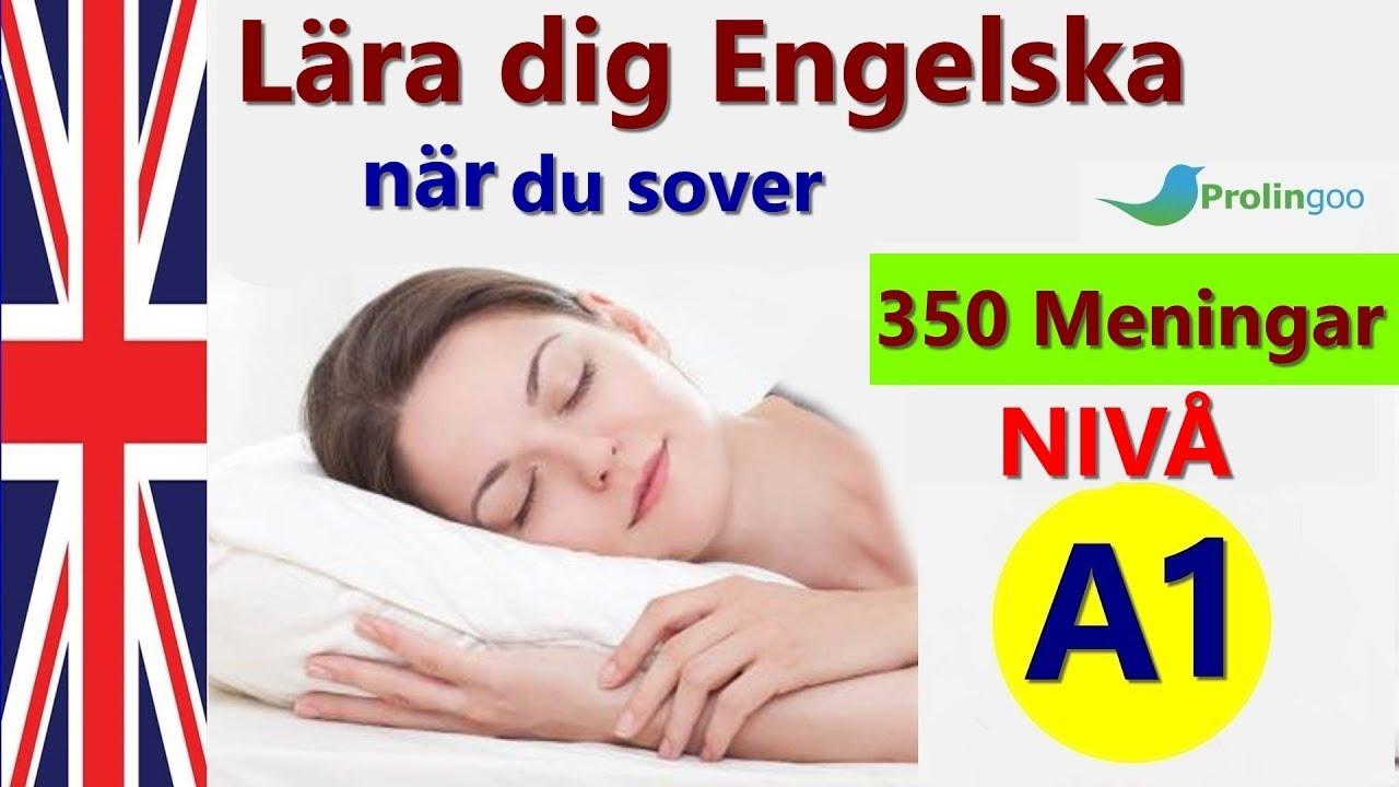 Lär dig Engelska när du sover | Lär dig grundläggande Engelska fraser