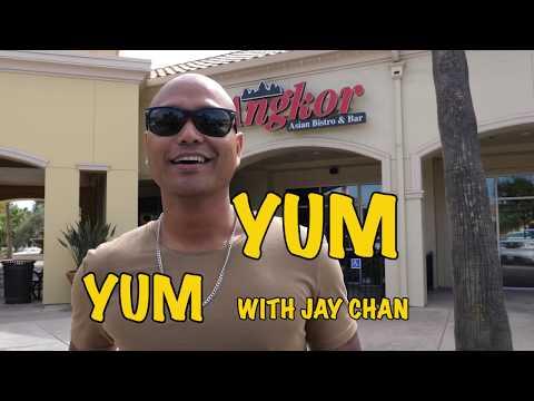 Yum - Yum With Jay Chan @ Angkor Asian Bistro And Bar