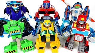 Ruthless pirates appeared! Transformers Rescue bots energize Bumblebee, Heatwave! - DuDuPopTOY