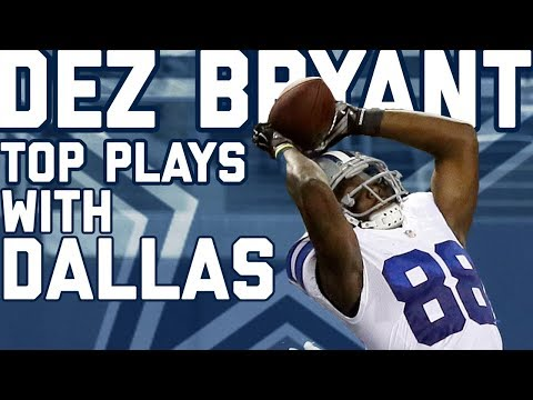 Dez Bryant's Top Plays with the Dallas...