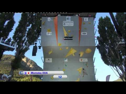 IFSC Climbing World Cup Briançon 2012 - Lead - Replay Women's final
