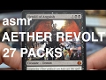 [ASMR] AETHER REVOLT - 400 Subs Achievement!! (card reading, whispering, MTG)