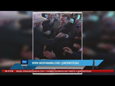 Presidente Varela baila sin preocupaciones