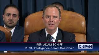 "Rep. Adam Schiff: ""Their objection is he got caught!"