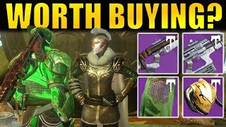 Destiny: Iron Banner Vendor Review (December 2016) | Worth Buying? | Rise of Iron