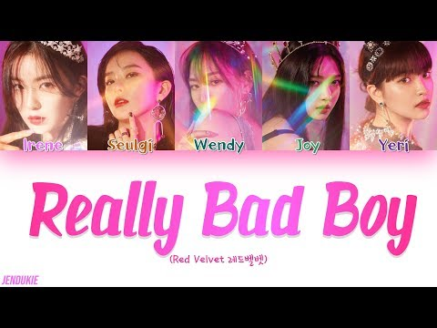 Red Velvet (레드벨벳) - 'RBB (Really Bad Boy) (Color Coded Lyrics Han/Rom/Eng) |Jendukie