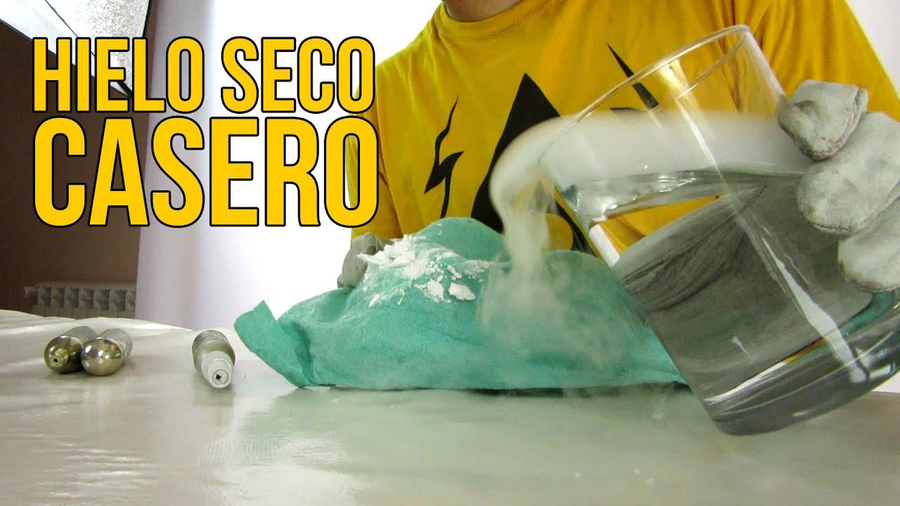 Cómo Hacer Hielo Seco Casero Experimentos Caseros Youtube