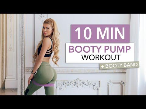 10 MIN BOOTY PUMP - set your butt on fire & make it grow I Pamela Reif