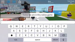 Looking at people's usernames on Roblox