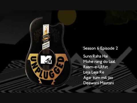 SUN RAHA HAI NA TU MTV UNPLUGGED SEASON 6 BY SHREYA AWESOME TRACK