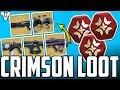Destiny 2 - Crimson Days EXOTICS!! - (Epic Gameplays & Big Loot Openings)