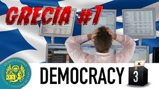 Democracy 3 Grecia #1 - ¡Crisis!