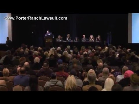 Porter Ranch Town Hall Meeting 1-22-2016