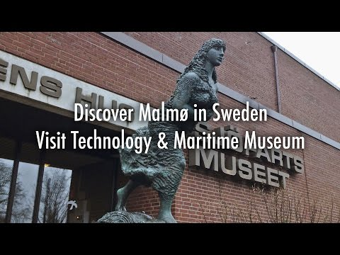 Technology & Maritime Museum 4K - Malmo - Discover Sweden - April 2017