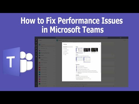 How to Fix Performance Issues in Microsoft Teams
