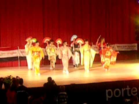 Japanese Dance at Folklore Festival 2010