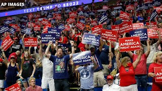 President Trump holds rally in Tulsa, Oklahoma