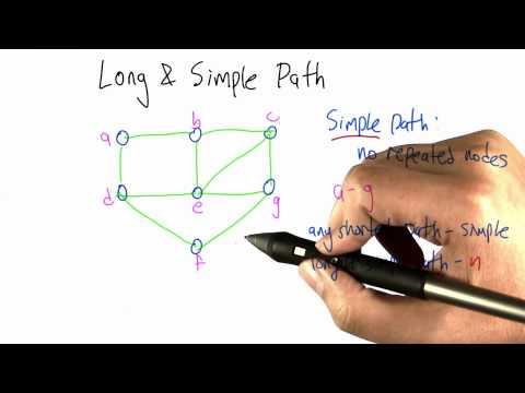 Longest Simple Path - Intro to Algorithms
