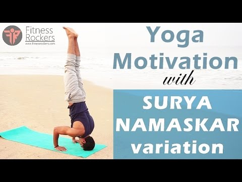surya namaskar or sun salutation advance variation  yoga