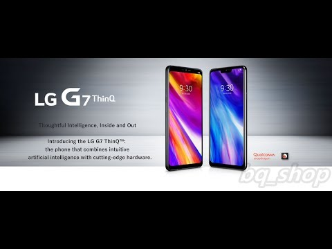 "LG G7+ Plus ThinQ G710 Dual Sim 6/128GB 6.1"" 16MP Phone OPEN BOX(Unboxing)"