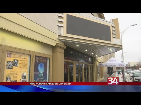 The Broome County Forum Theatre Marquee Goes Digital