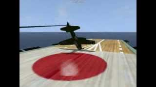 pacific fighters stunts and crashes
