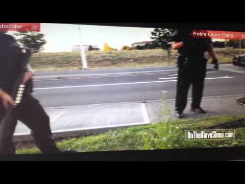 Police Blatantly Violating the Law and Their Oath to the Constitution