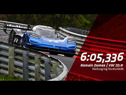 Electric Record Nordschleife | Full Lap Volkswagen ID.R