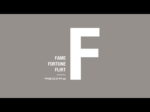 F Book by Aboday : Fame, Fortune, Flirt