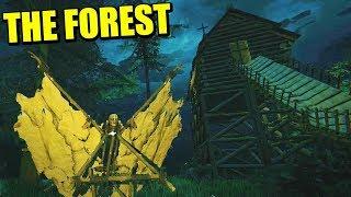ENCONTRANDO EL PLANEADOR, TORRE Y RISAS - Actualización THE FOREST| Gameplay Español