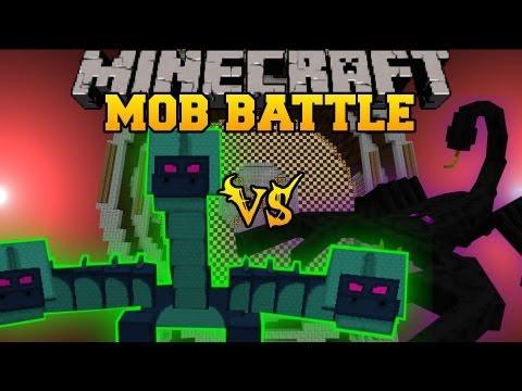 minecraft mob battles hydra vs ninja