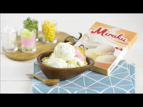 ไอศกรีมกะทิรวมมิตร : GOURMET RECIPE#47