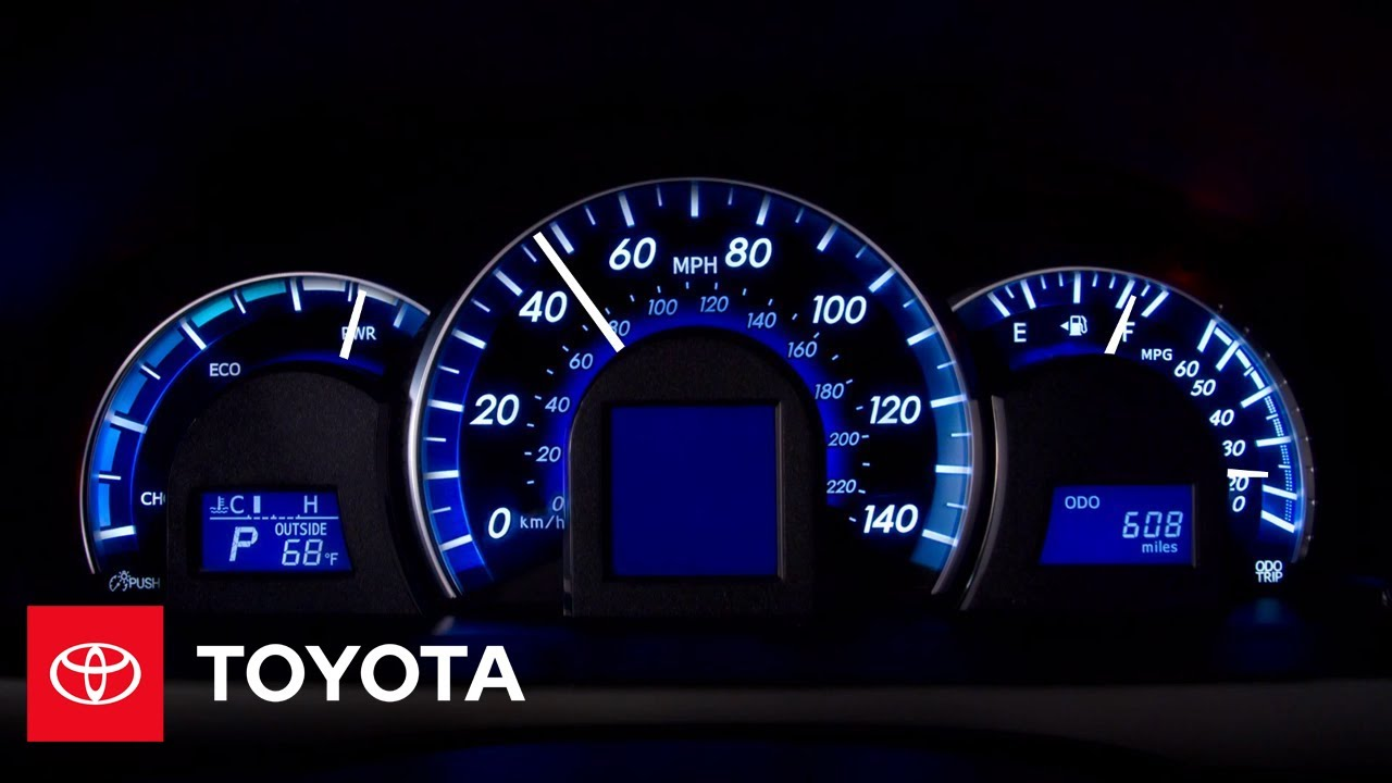 2017 Camry Hybrid How To System Indicator Toyota