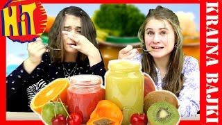 BABY FOOD CHALLENGE | TESTUJEMY JEDZENIE DLA NIEMOWLĄT | MONIA vs AGATKA | BAW SIĘ Z NAMI