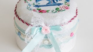 Make A Charming Sewing Box - Diy Crafts - Guidecentral
