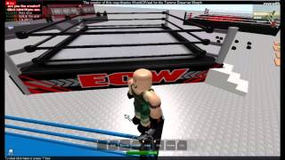 WWE ON ROBLOX raw/smackdown/mainevent/s.m.slam vs. ecw/wcw/tna