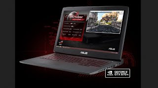 ASUS ROG G751JT-DH72 17.3-Inch Top Gaming  Laptop