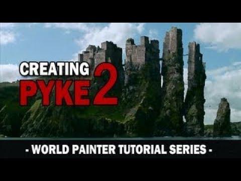 World Painter Tutorial Series Pyke Part 2 Coastal Cliffs