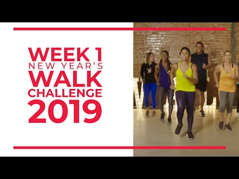 new-year's-walk-challenge-2019---week-1-|-walk-at-home