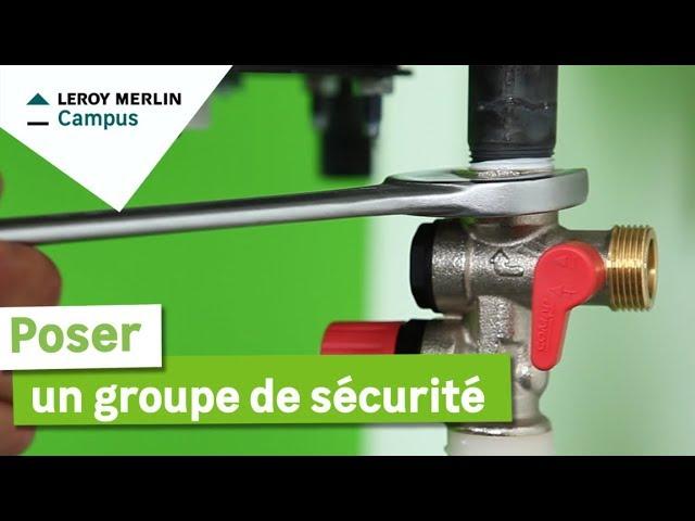 Comment Poser Un Groupe De Securite Leroy Merlin Youtube