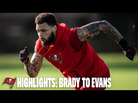 Highlight: Tom Brady Throws to Mike Evans, Chris Godwin
