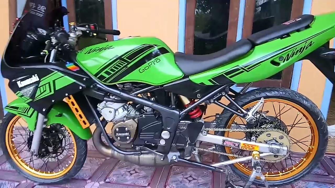 Modif Kawasaki Ninja Rr Old Standar Youtube