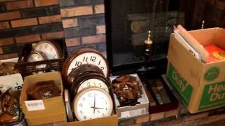 Estate Auction 60+ Years Watch & Clock Repair Replacement Parts, Tools, Supplies etc