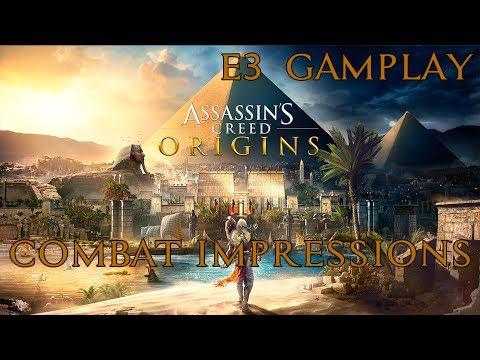 Assassin's Creed Origins - E3 Gameplay & Combat Impressions