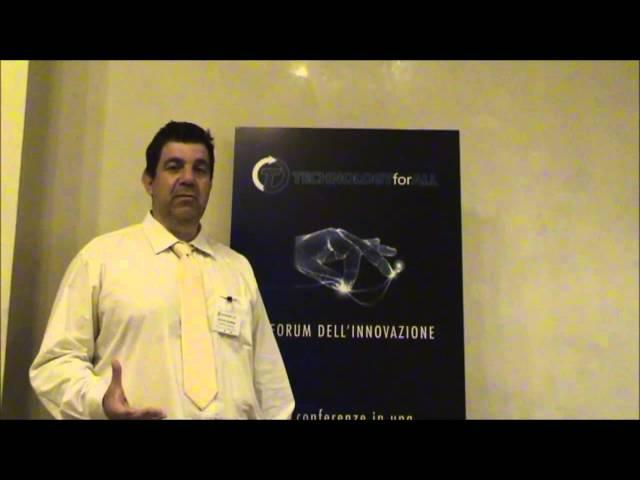 Forum TECHNOLOGYforALL - 2014 Intervista a De Polo Saibanti
